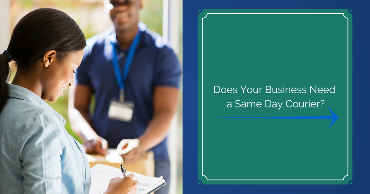 Does Your Business Need aSame Day Courier-